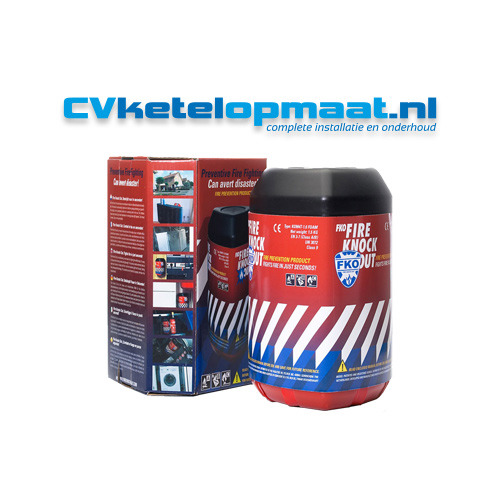 CV ketel op maat Fire Knock Out